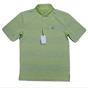 Greg Norman Attack Life Green Polo T Shirt